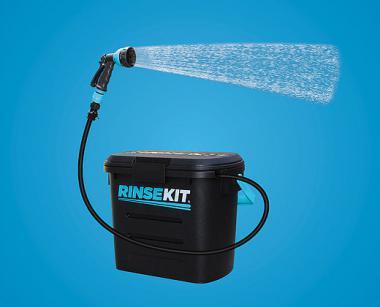 RINSEKIT - Die tragbare Dusche